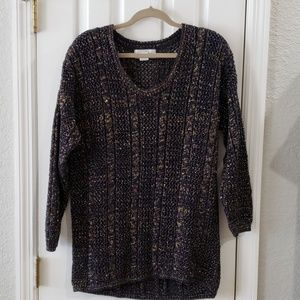 Casual Coner Navy Gold Sweater